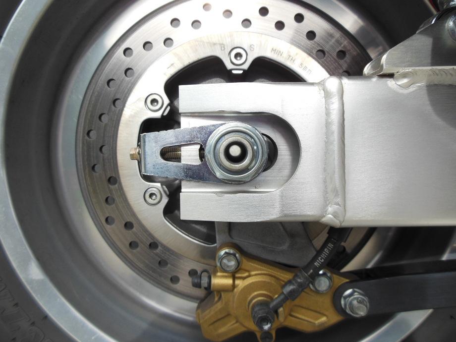 HONDA X4用オーダー貫通シャフト