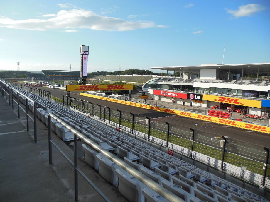 2013 F1 日本GP FP1,2